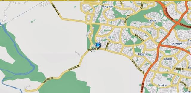 Stockdill Drive street map